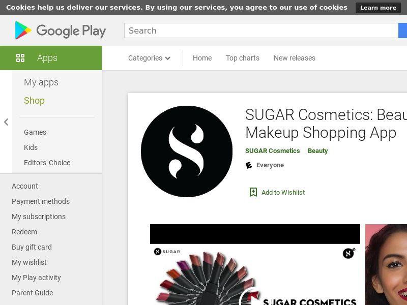 IN - Sugar Cosmetic Android CPT (Gaid Mandatory)