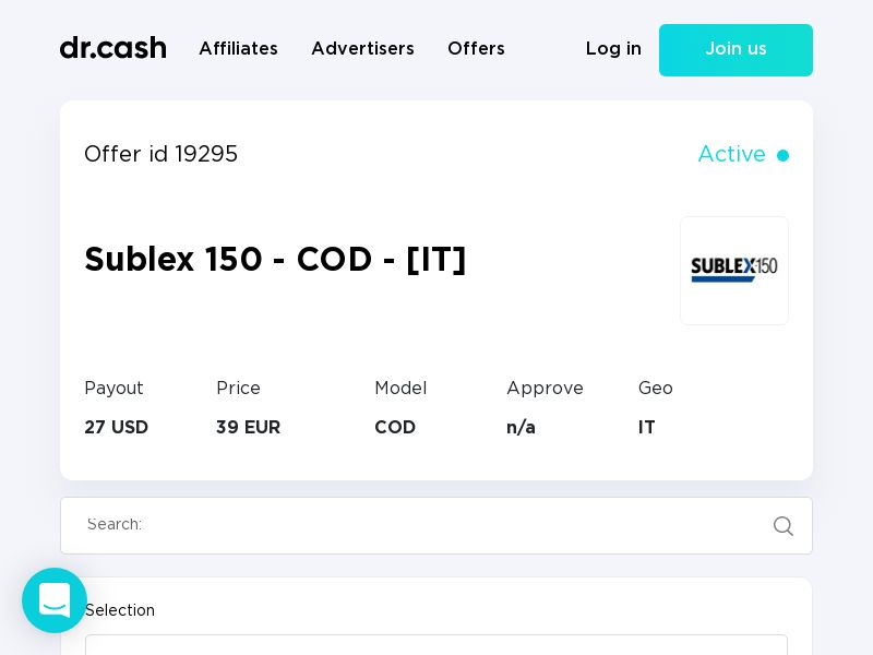 Sublex 150 - COD - [IT]