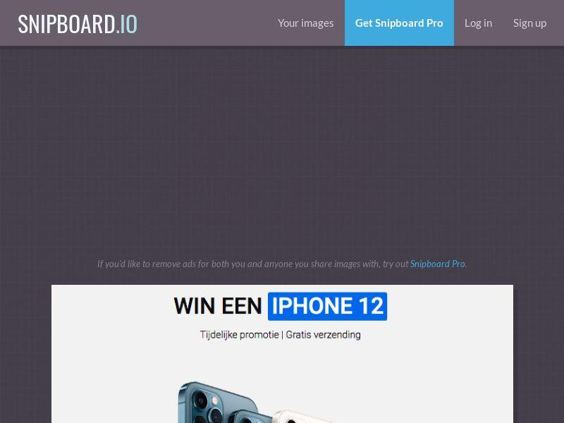LeadsWinner - iPhone 12 BE - SOI *dutch speaking*