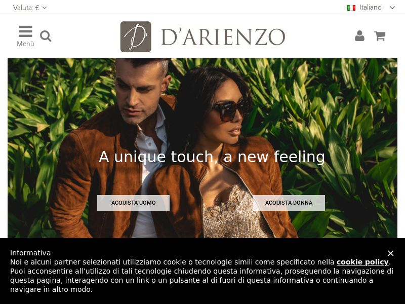 D'Arienzo - IT (IT), [CPS], Fashion, Clothes, Accessories and additions, Accessories, Presents, Sell, shop, gift