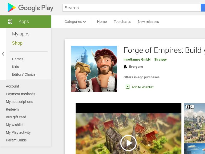 Forge Of Empires - Android (US) (CPE) (Incent) (Personal Approval)