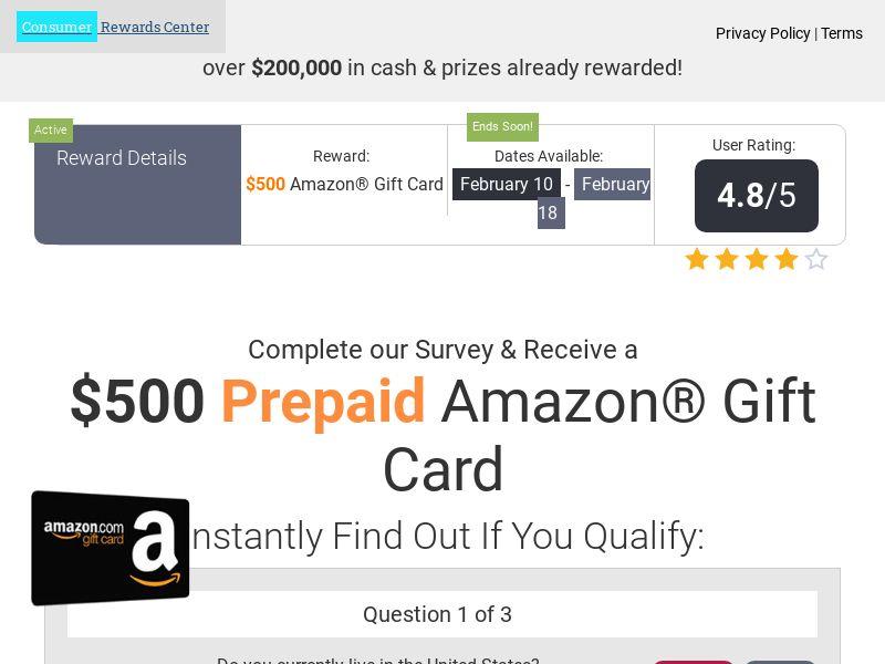 Amazon Gift Card - US