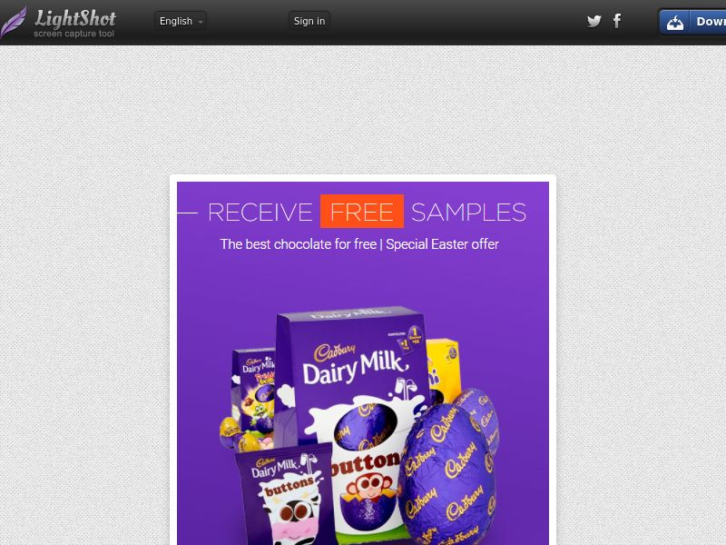Portal Leads - Cadbury (UK) (CPL) (Personal Approval)