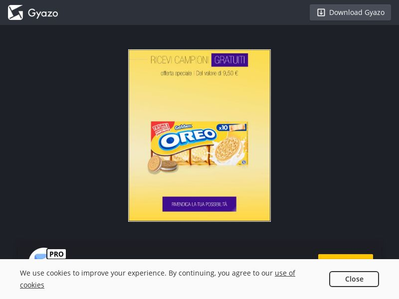 Try New Golden Oreo (IT) (CPL)