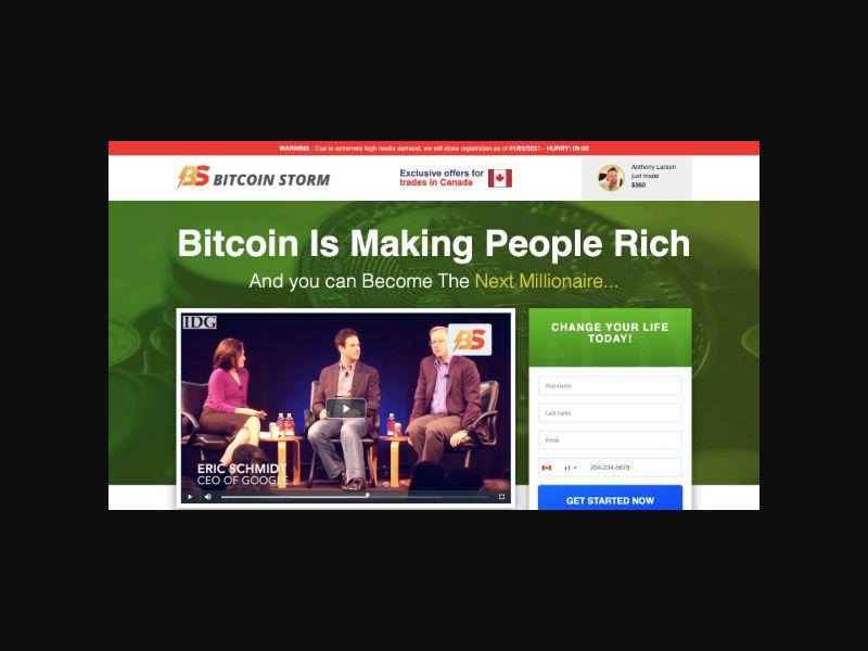 Bitcoin Storm - CPA (SA)