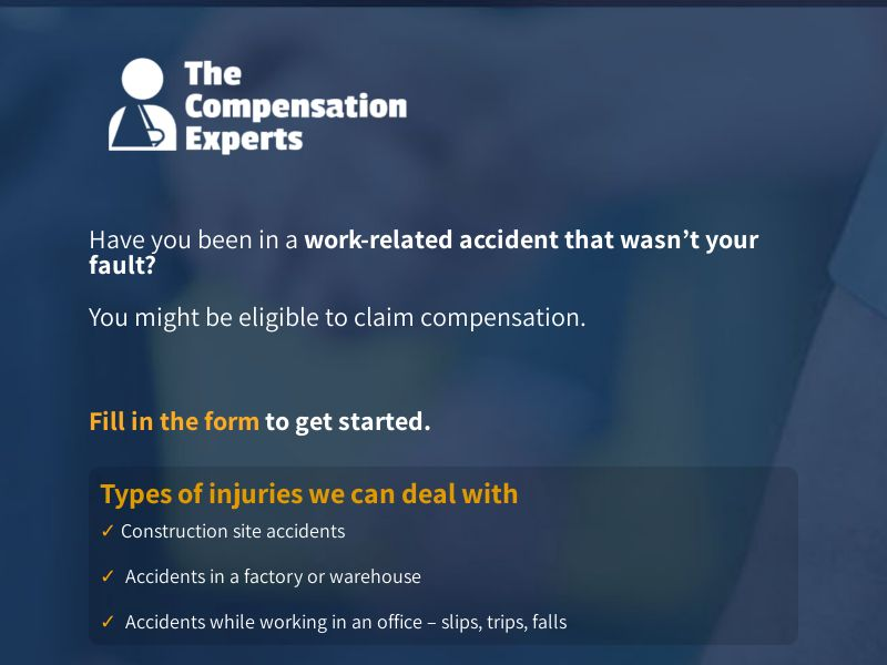 Personal Injury - Short From - D1 - Native - UK
