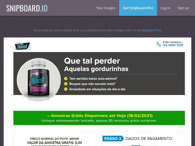 40136 - BR - Keto Boost - Diet & Weight Loss - Trial - [BR]