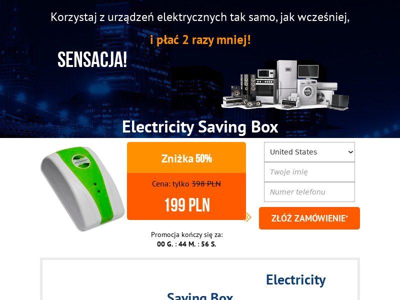 Electricity saving box - PL