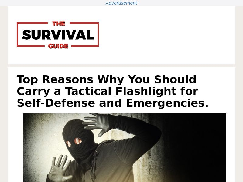 1TAC Pro Flashlight (PPS) - Survival/eCommerce - US