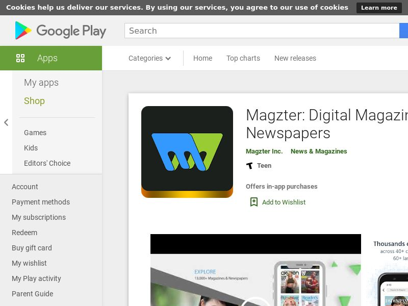 Magzter: All Digital Magazines - Android - GB - Non-incent CPE