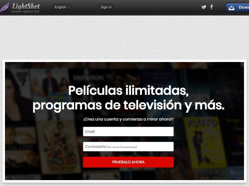 PopVOD Netflx (Video Streaming) (CC Trial) - Spain [ES]