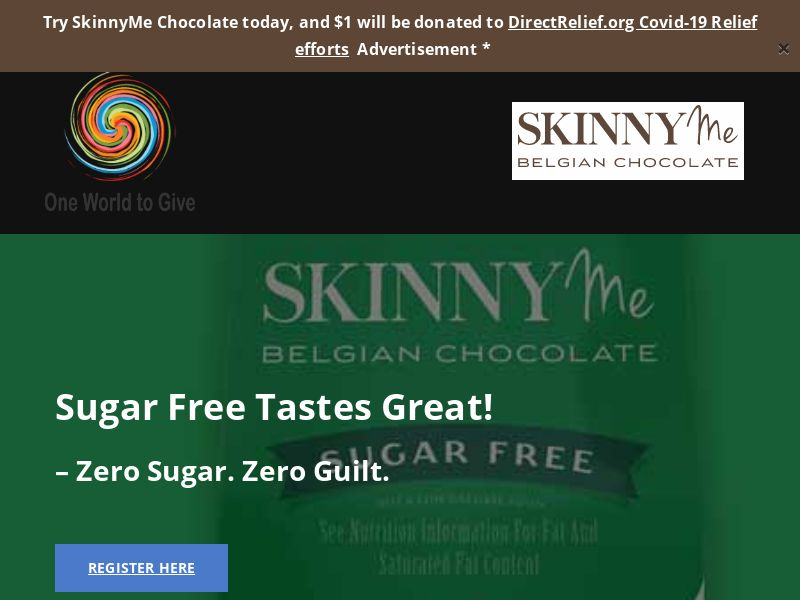 SkinnyMe Chocolate Free Trial (US) (Trial) (Personal Approval)