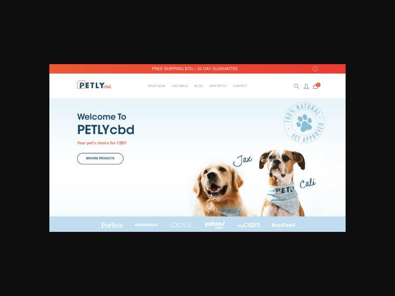 Petly CBD (US) Revshare