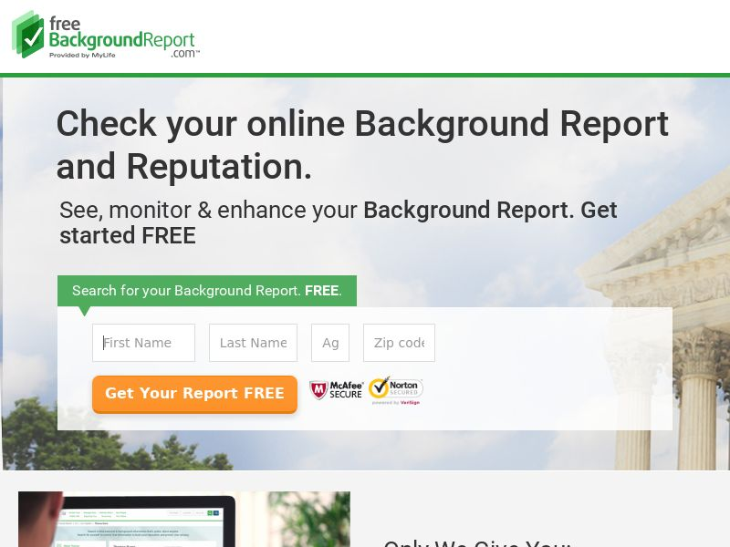 Background - Check - Free Background Report - Trial (US)