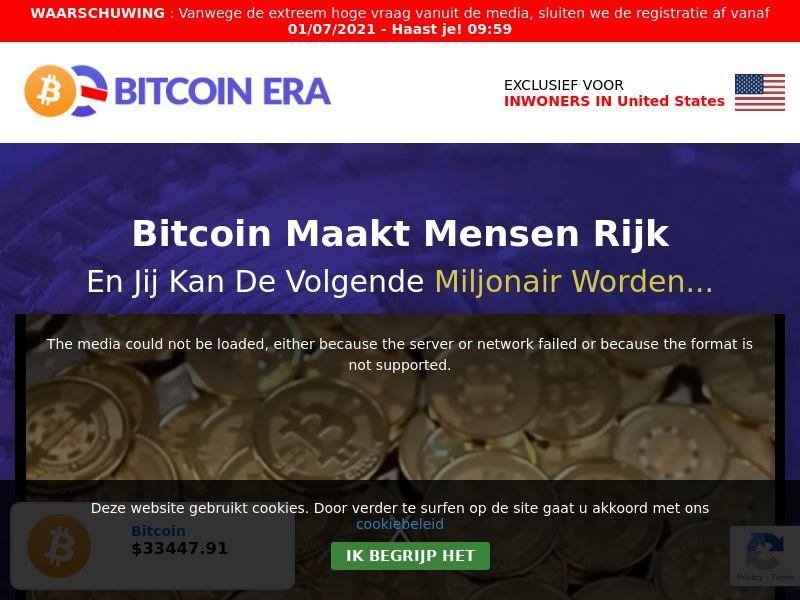 Bitcoin Era - Dutch - BE