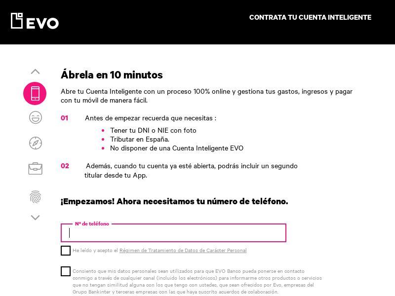 EVO - Cuenta Inteligente - ES - CPA