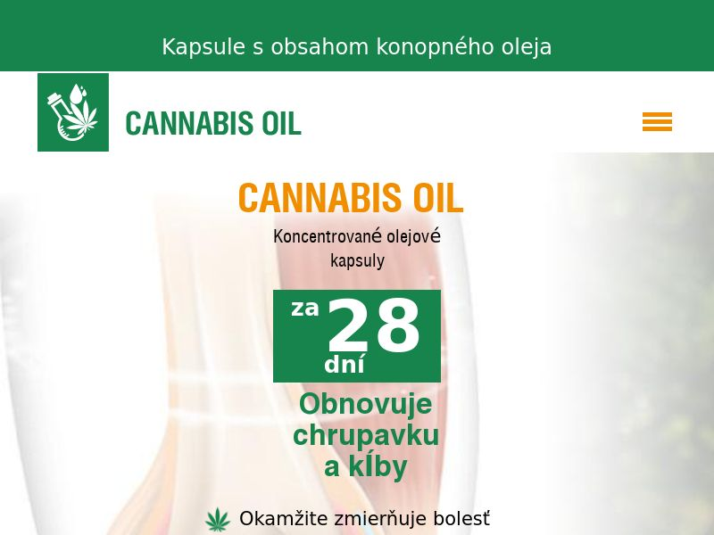 Cannabis Oil SK (joints)