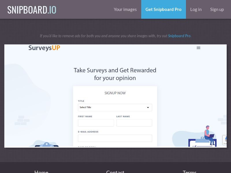 SurveysUp - Mobile and Desktop - US (SOI)