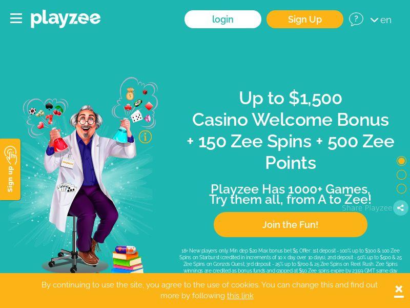 Playzee.com Casino CPA - India
