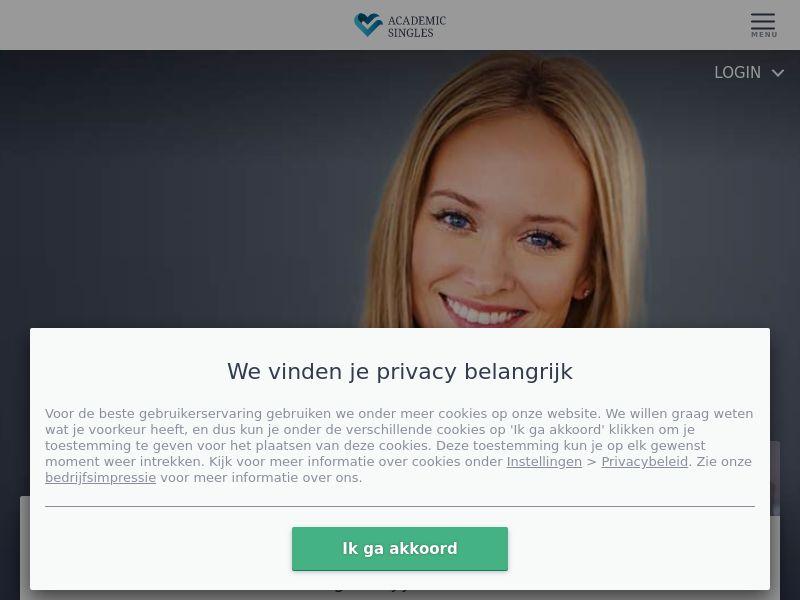 Academic Singles NL 30+|SOI|Desktop