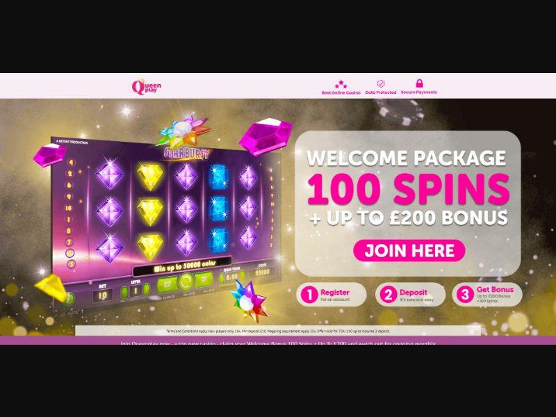 Queen Play - Casino - SS - [FI, CA, NZ, IE]