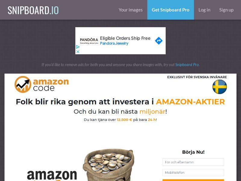 40809 - SE - Amazon code - SE - CPL
