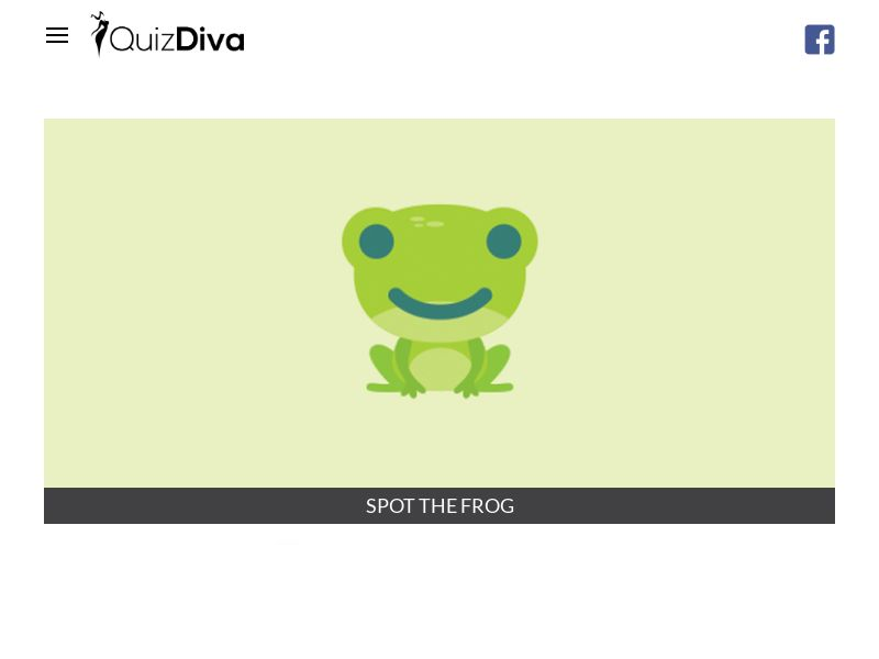 Spot the Frog Quiz - INCENT - US