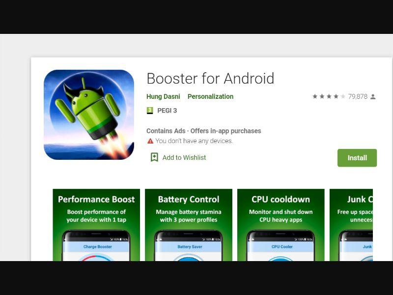 Android Booster [IL] - CPI