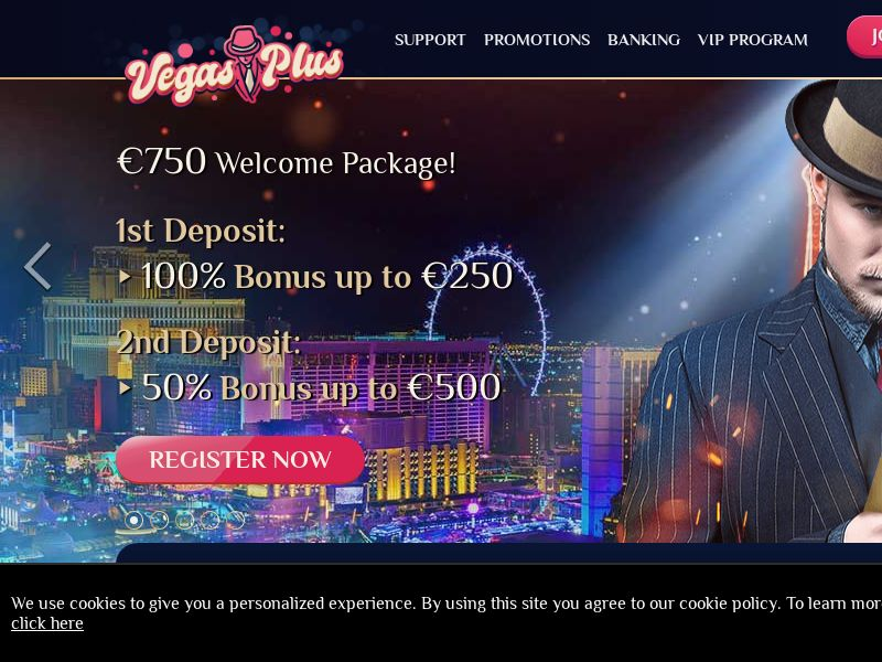 11322) [WEB+WAP] Vegasplus casino - DE,AT,CH - CPA