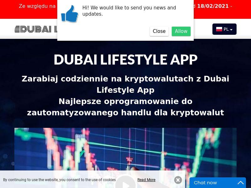 Dubai Lifestyle App Polish 2239