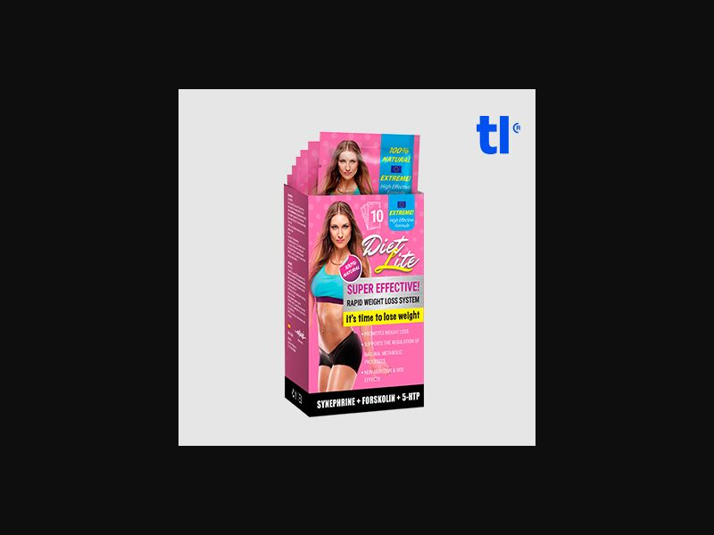 Diet lite - Weight Loss - CPA - COD - Nutra