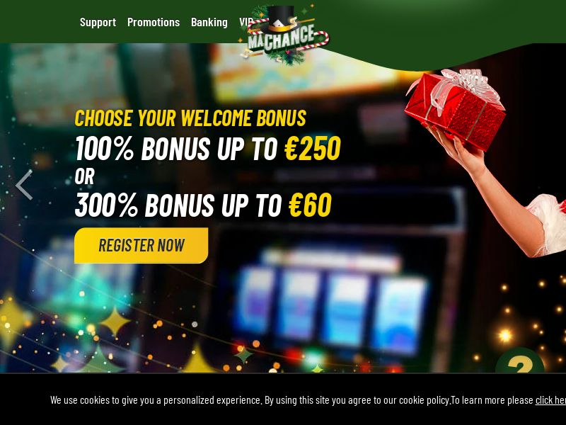MaChance Casino | Baseline | Global