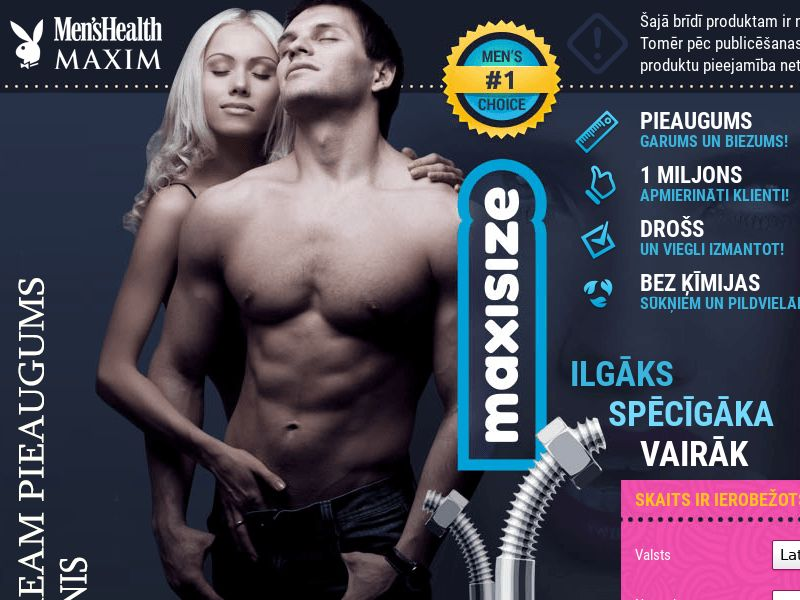 Maxisize LV - penis enlargement cream