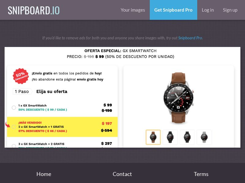 40100 - ALL - E-Commerce - GX SmartWatch INTL WW - CPS