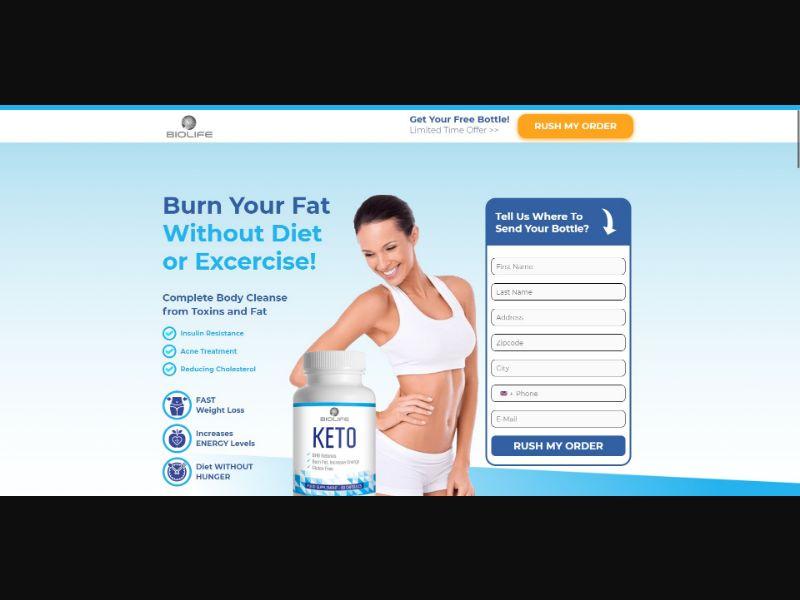 BioLife Keto - Diet & Weight Loss - SS - [UK]