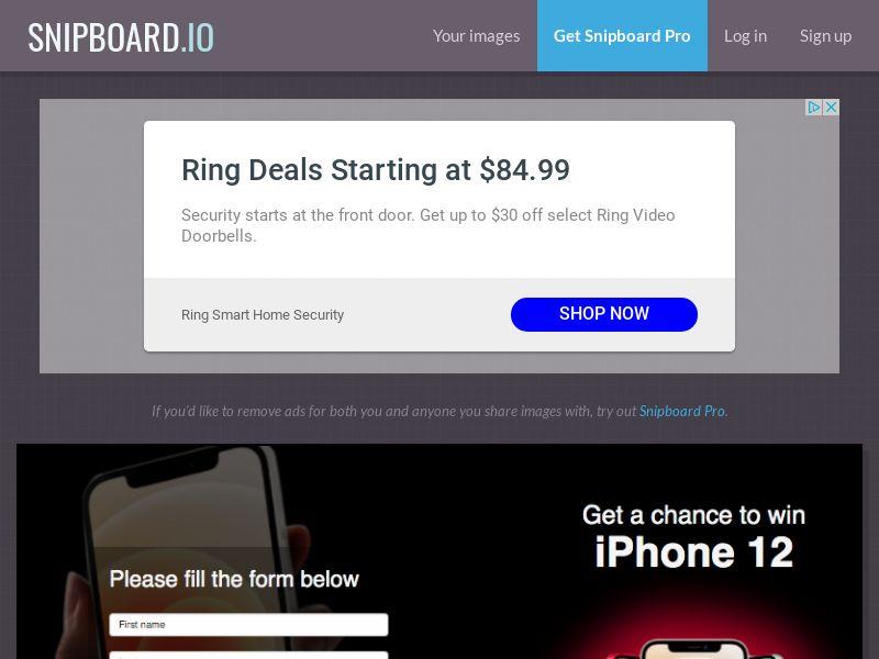 BigEntry - iPhone 12 v1 AU - CC Submit