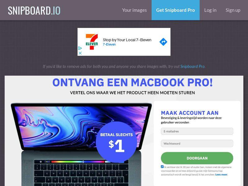 CoreSweeps - MacBook Pro NL - CC Submit