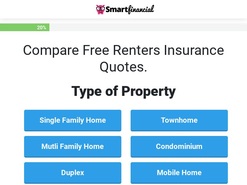 Fast Quote Renters Insurance - (Revshare)