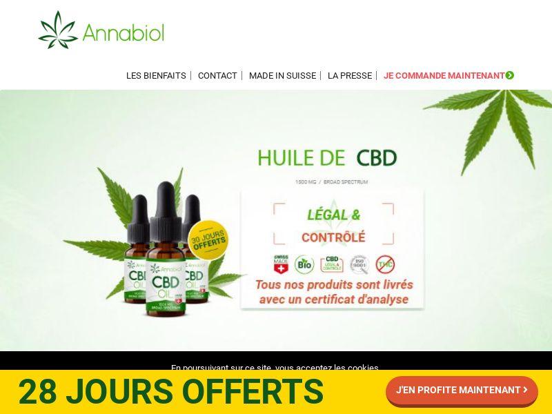 Annabiol – Trial – FR/BE/LU – CBD