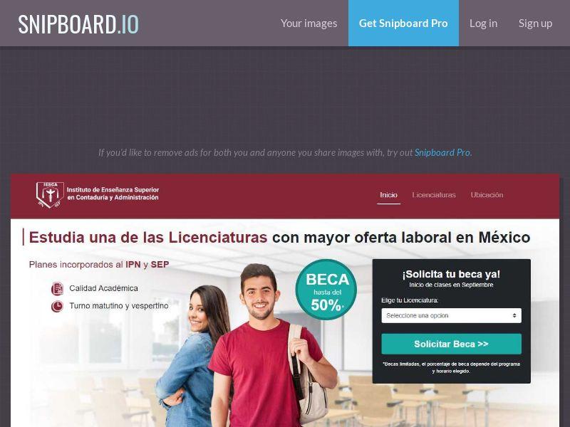 40303 - MX - IESCA University - SOI