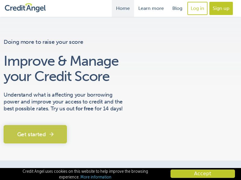 Credit Angel - Social Credit Report - UK