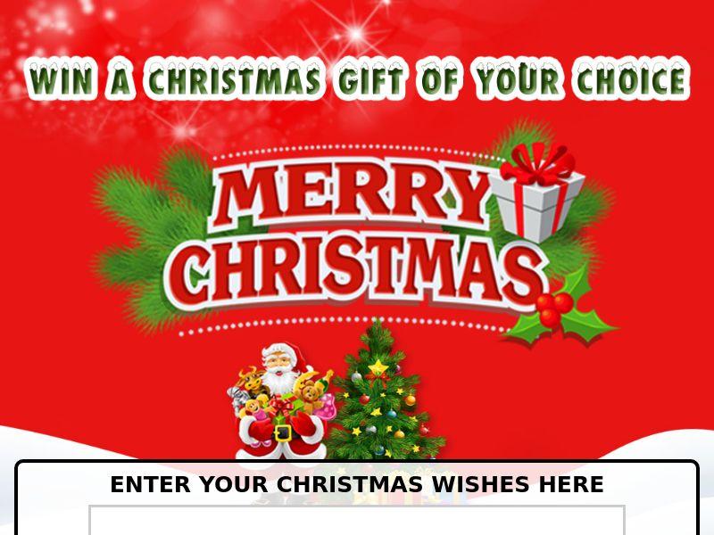 11407) [WEB+WAP] Christmas Gift of Your Choice - SG - CPL