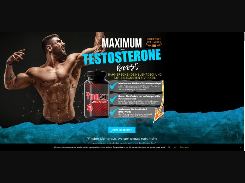 Thoraxin - Muscle Building - SS - [DE, AT, CH]