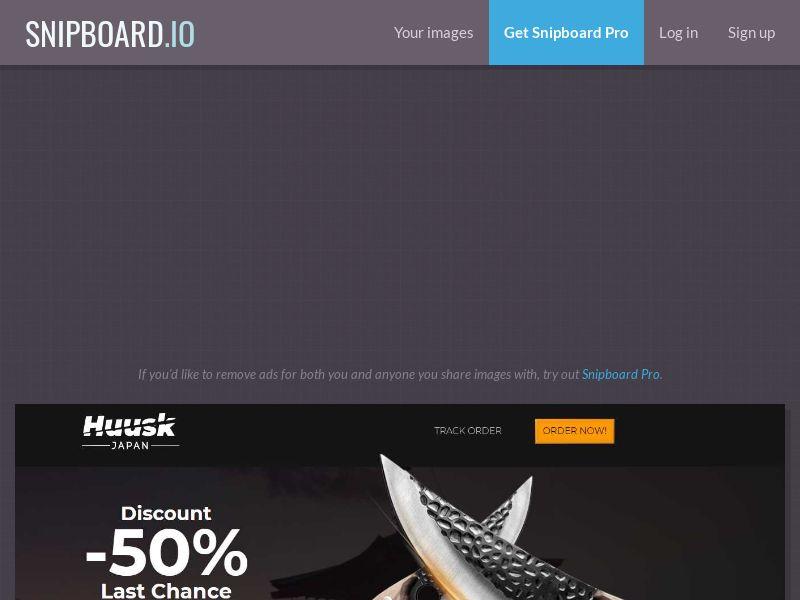 43078 - DE - AT - E-commerce - Huusk - Handmade Knives - (DE - AT) - [Ann-FB] [4094] [order page LP]