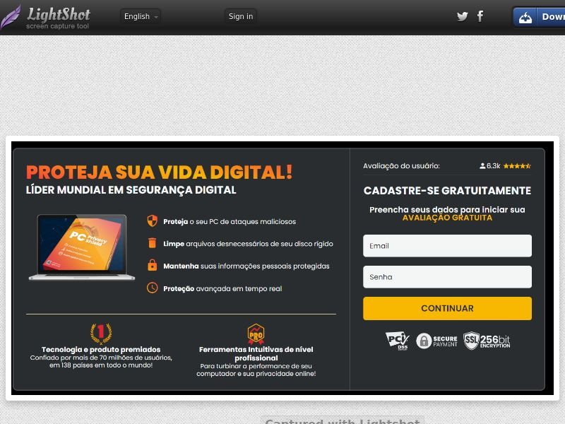 ProtectNow PC Privacy - Direct Registration (Black) (CC Trial) - Chile