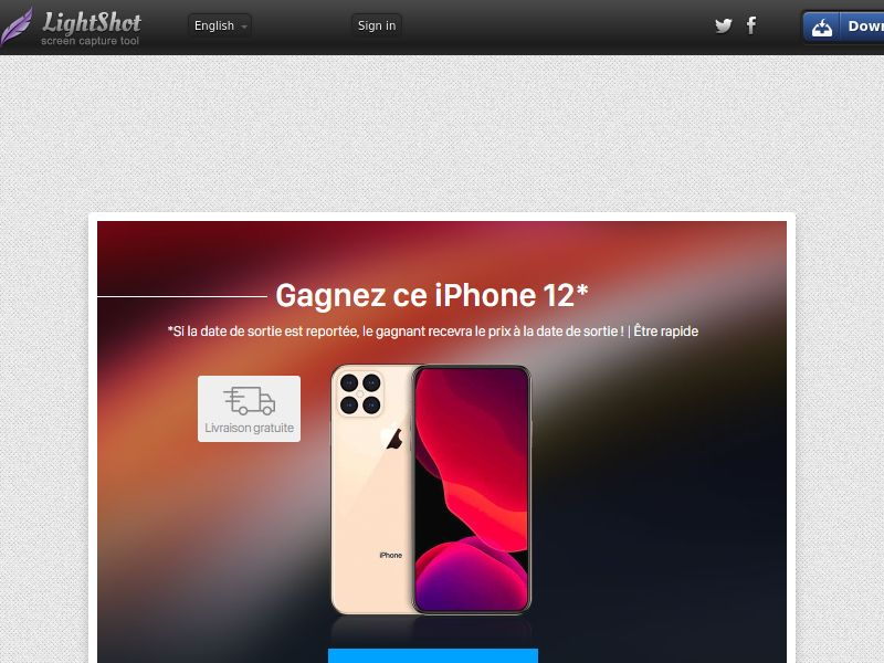 Portal Leads - iPhone 12 (FR) (CPL) (Personal Approval)