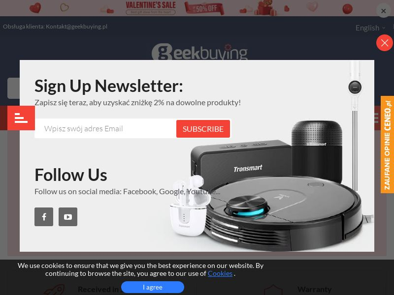 Geekbuying (AT,BE,CZ,DK,EE,FR,DE,HU,LV,LT,LU,NL,PL,SK,SI), [CPS], Appliances and Electronics, Hardware, Telephones and accessories, Audio and video, Household goods, Sell, shop, gift