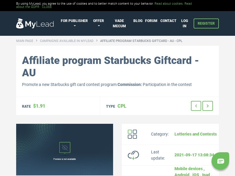 Starbucks Giftcard - AU (AU), [CPL]