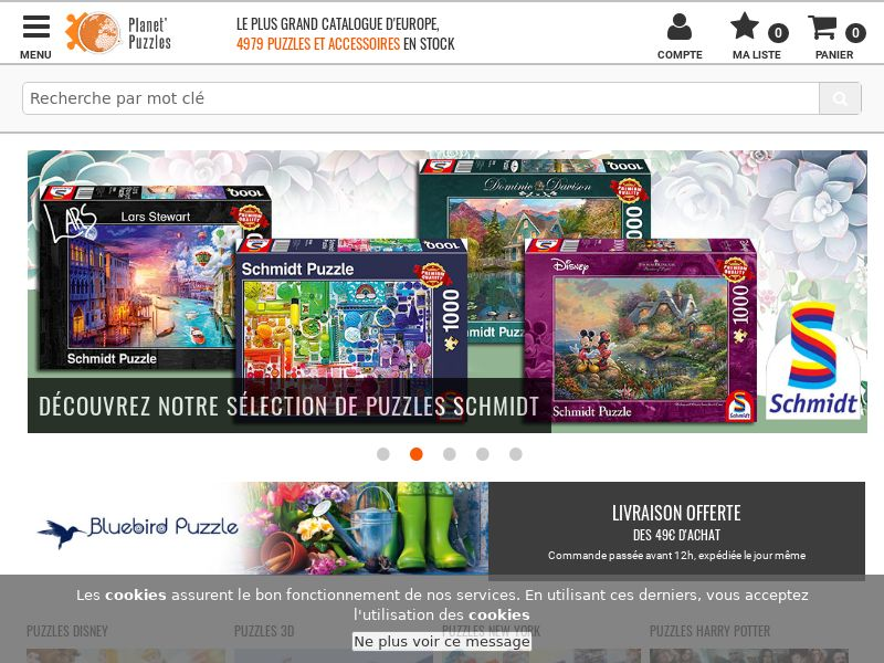 Planet Puzzles - FR (FR), [CPS], Sport & Hobby, Accessories and additions, Presents, Sell, shop, gift