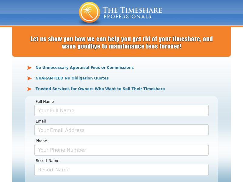 Real Estate - The Timeshare Professionals - SOCIAL (US)